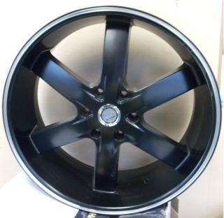 24 inch 55 FB Rims and Tires Avalanche Escalade Tahoe H3 Silverado