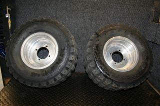 Polaris Predator 500 Rear Stock Wheels Rims Tires