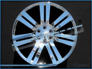 Cadillac Escalade 24 Wheels Chrome Plated Rims ESV Ext New