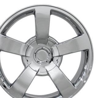 20 Silverado SS Chrome Wheels Set of 4 Rims Fits Chevrolet