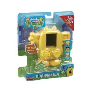 Fisher Price WOW WOW Digi Wubbzy Hand Held Game New