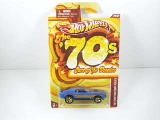 Hot Wheels 70s Cars of The Decades 70 Mustang Mach 1