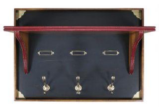 Nautical Chelsea Coat Hanger Hook Authentic Models Wood Wall Mounted