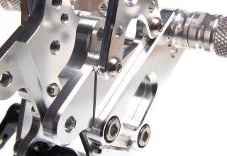 CNC Billet Foot Pegs Rear Sets Set Rearsets Honda CBR 1000 RR 08 09 10