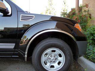 2005 2010 Nissan Frontier Stainless Steel Fender Trim
