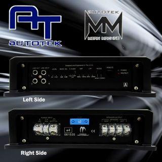 100 Authentic Brand New Autotek M3200 2 Class AB 2 Channel Amplifier