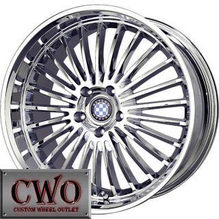 18 Chrome Beyern Multi Wheels Rims 5x120 5 Lug BMW 5 6 7 8 Series S10