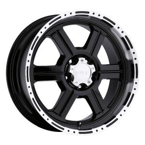 20 inch V Tec 326 Gloss Black Wheels Rims Jeep Wrangler
