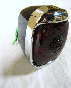 1940 1953 Chevy Pickup Truck Right Hand RH Tail Light Assembly w Black