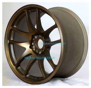 18 Rota Wheels 18x9 5 Torque BZ 350Z G35 EVO 8 x STI