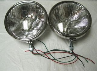33 34 Ford Pickup Truck & Commercial Car Stainless Steel Halogen