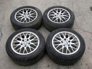 BWM E46 E36 16 Wheel Set w Tires 16x7 Style 42 BBs 318i 325i 328i Z3