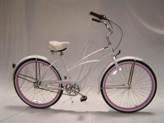 26 Shimano Nexus Inter 3 Speed Beach Cruiser Bike Tahiti NX3 Lady