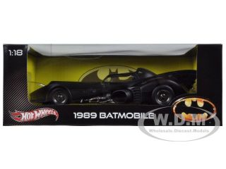 1989 Batmobile 1 18 Diecast Car Model by Hotwheels X5533