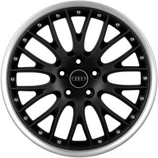 18 VW Jetta Passat CC Golf GTI EOS Wheels 5x112 18x8 Matte Blk