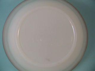 Vintage Fire King Milk Glass Swirl Gold Rim Berry Dessert Bowl