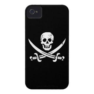 John Rackham (Calico Jack) Pirate Flag Jolly Roger Case Mate iPhone 4