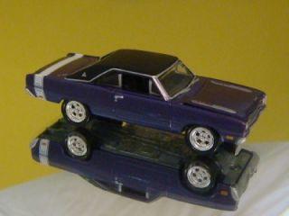 Plum Crazy 69 Dodge Dart Swinger 340 1 64 Scale Limited Edit 6
