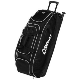 Combat Coaches Choice Baseball Softball Wheel Bag Black