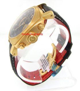 Panerai Ferrari Granturismo 18K Rose Gold Chronograph Mens Watch
