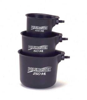 Drennan Drennan Polemaster Pole Pots/Cups Set (Original Black)
