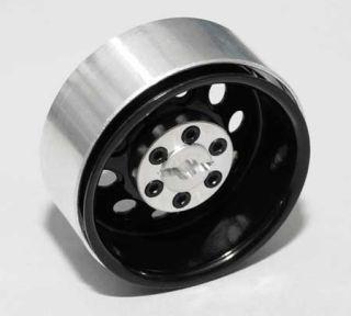 10 Scale Crawler 1.9 Black PRO10 Steel Beadlock Wheels by RC4WD # Z
