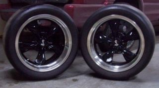 V710 315 35 r18 tires with bullitt deep well cobra rims fits mustang