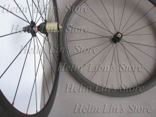 38mm Tubular Carbon Road Wheelset Carbon Tubular Wheel