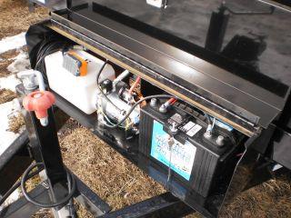 New Sure Trac 8 x 14 Dump Trailer 14 000 Deckover Drop Side Load