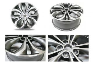 Aluminum Wheels Rims Set 4pcs 19 for 12 13 Santa FE New 529102W390 X4