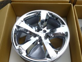 2012 DODGE CHALLENGER CHARGER HEMI R/ 20 CHROME ALUMINUM RIMS WHEELS