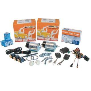 Shaved Door Handle Kit, SV Pro Series, 35 lb. Solenoids, 18 Channel, 2