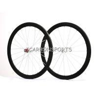 Carbon Tubular Wheelset Hub Shimano/Campagnolo 44mm; Carbon Wheels
