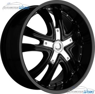 Dakar Approach 5x110 5x115 40mm Black Wheels Rims inch 20