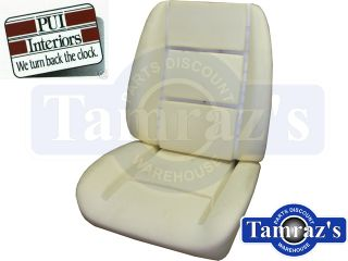 84 8 Monte Carlo El Camino Front Bucket Seat Bun Foam with Wires One