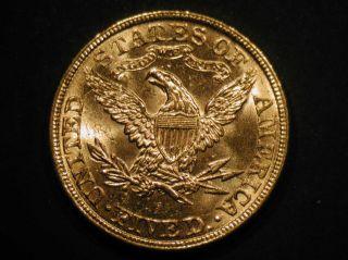 1882 US Gold Liberty Head $5 Half Eagle