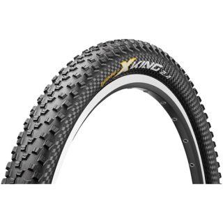 Continental X King UST 26 x 2.4 inch black folding Mountain Bike Tyre