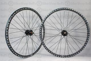Velocity Deep V Non Machined Track Wheels Skulls Black Fixed Gear
