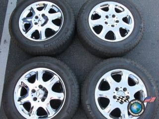 00 02 Mercedes S420 S430 S500 Factory 16 Wheels Tires OEM Rims 65204