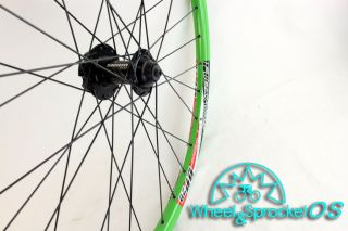 New Alex DP20 SRAM Green Disc Mountain Bike Wheel Set
