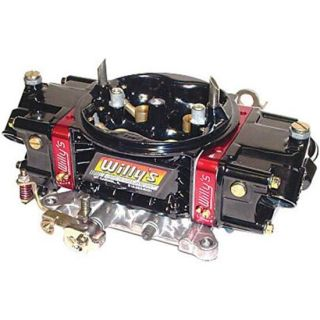 Series Gas Carburetor 750 Base for 355 406 CI Black Powder Coat