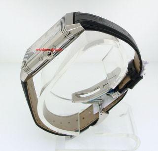 Jaeger LeCoultre JLC Grand Reverso Calendar Silver Dial Mens Watch