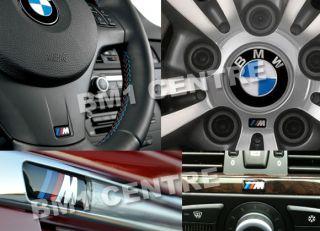 Emblem Badge BMW Steering Wheel Rim Interior Mtec M3 M5 M6 Tech