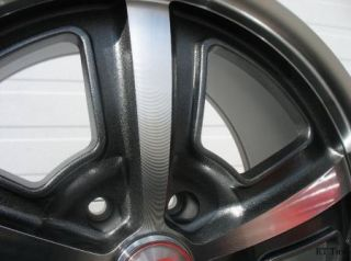 18x9 5 Hyperblack Carroll Shelby CS69 Wheels Rims GT500