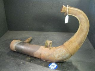 1991 Polaris 440 Exhaust Pipe Used Snowmobile Sled Wedge Chassis