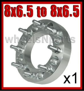 ADAPTER SPACER 1.5  8 6.5 to 8x6.5 Same 8 Lug Rim 14mm Studs 563
