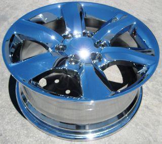 Lexus GX460 4Runner Chrome Wheels Rims 2011 2012 GX470 Set