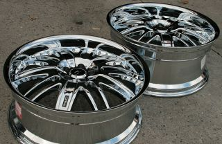Chrome AMG Wheels 22