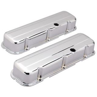 Summit Racing Chrome Valve Covers G3312 Chevy BBC 396 427 454