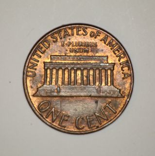 1984 Lincoln Penny Major Die Clash Error aka Prison Bar Cent